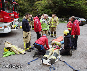 Joint MCRO - Shropshire Fire and Rescue Service exercise, 10th October 2015